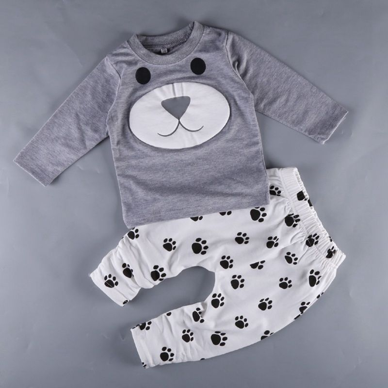 Babies Sleepsuit and Hat Set Playsuit All in One Nightwear Sleepwear Rocket Owl