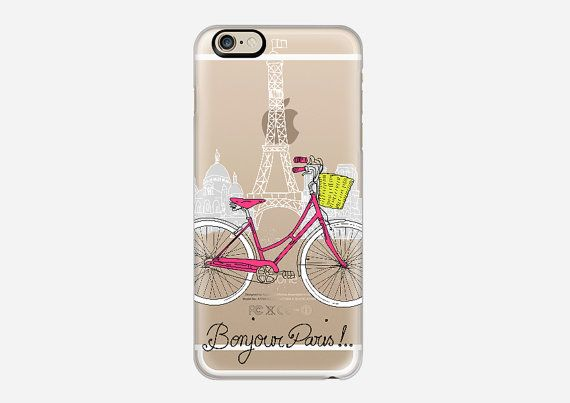 Check out this item in my Etsy shop https://www.etsy.com/listing/229381256/bonjour-paris-frosted-see-thru-phone