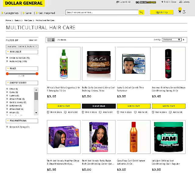 Being Free **SIFO** Dollar General Online & Multicultural