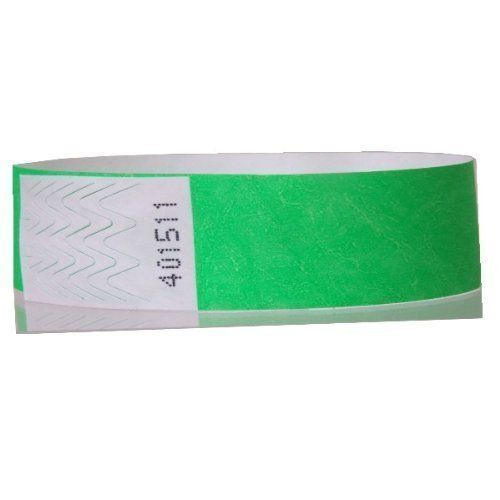 Tyvek wristbands, security events pack of 1000 (neon pink, 19mm*254mm)