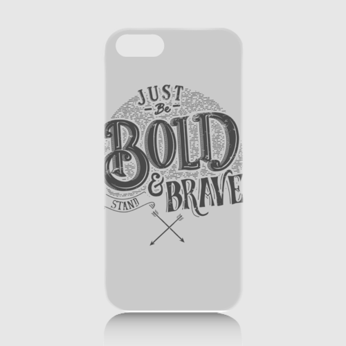 Be Bold dari Tees.co.id oleh Alterdecotype