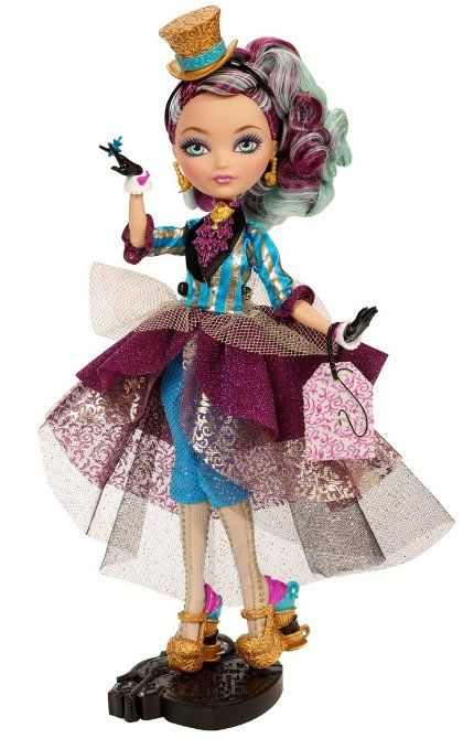 Amazon.com: Ever After High Legacy Day Madeline Hatter Doll: Toys & Games