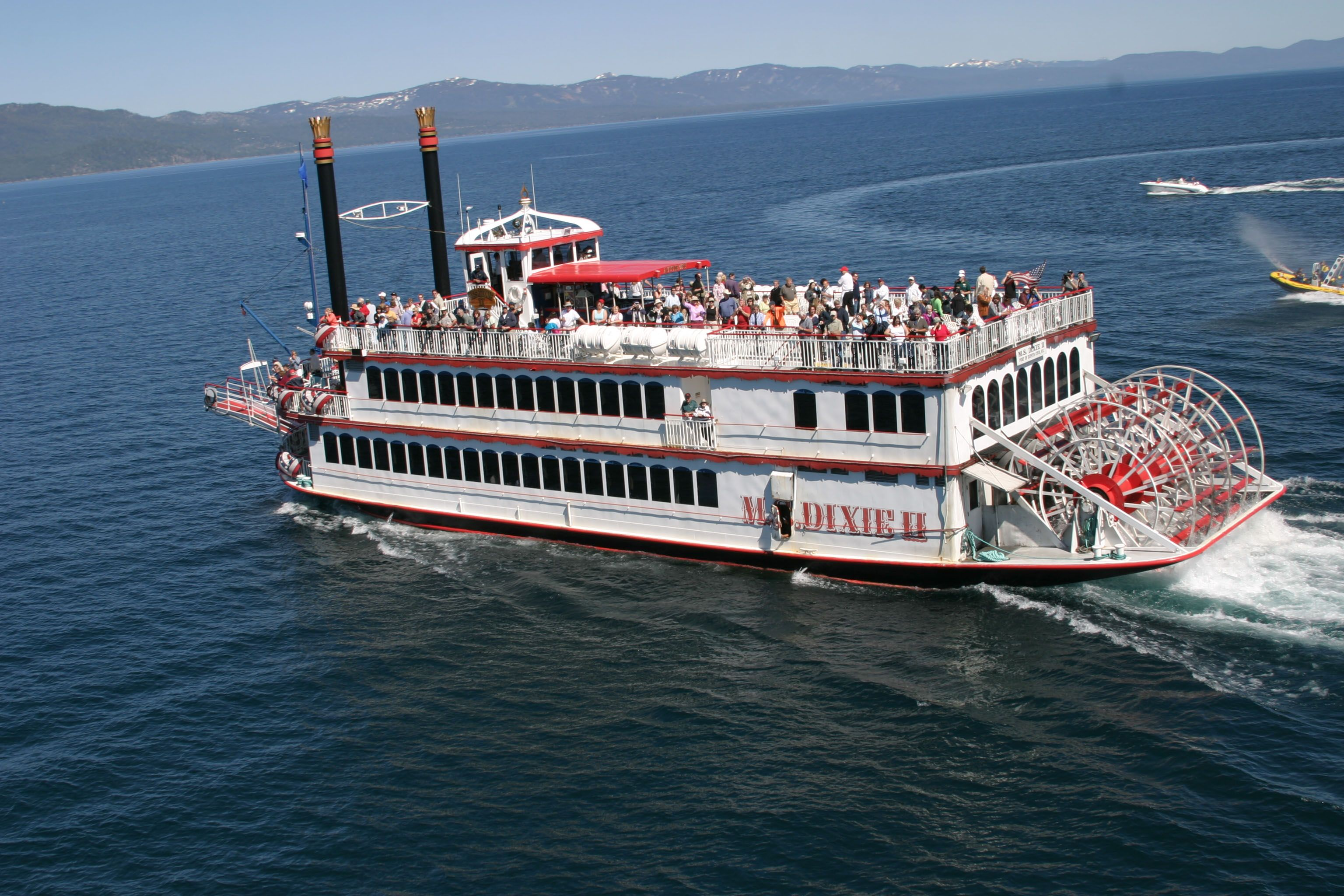 The 520-passenger, award-winning M.S. Dixie II is the largest ...