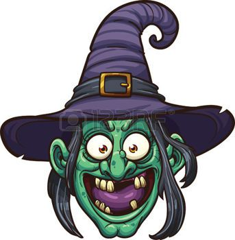 Brujas caricatura cara de la bruja de la historieta - Caras de brujas ...