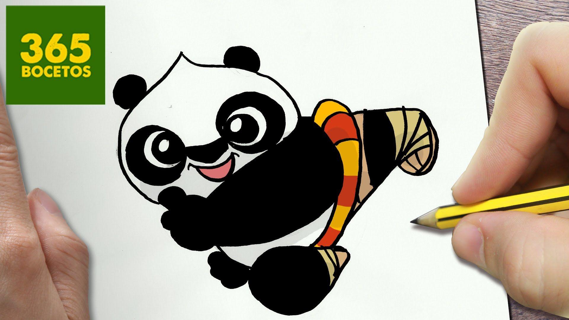Como Dibujar Kung Fu Panda 3 Kawaii Paso A Paso Dibujos Faciles How Dibujos Kawaii Garabatos Kawaii Dibujos Kawaii 365