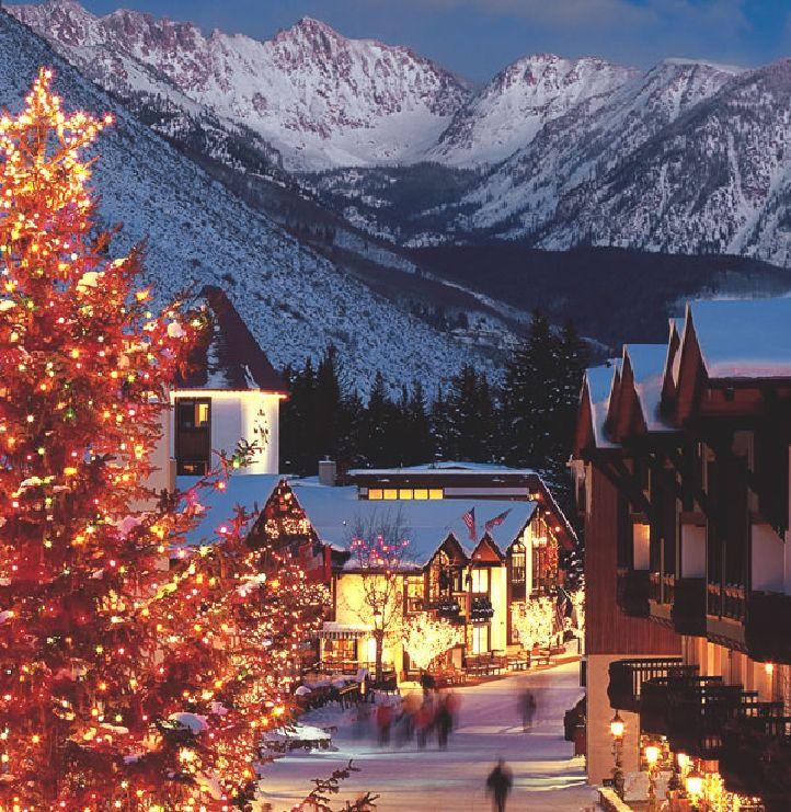 Honeymoon Destinations Rocky Mountains: Vail Colorado, Vail Village
