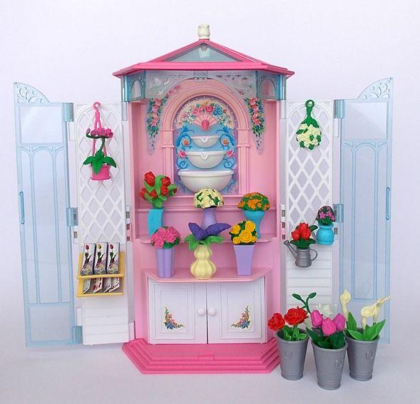f6724639af Barbie Flower Shop 2000 | BARBIE PLAYSETS | Barbie castle, Barbie ...