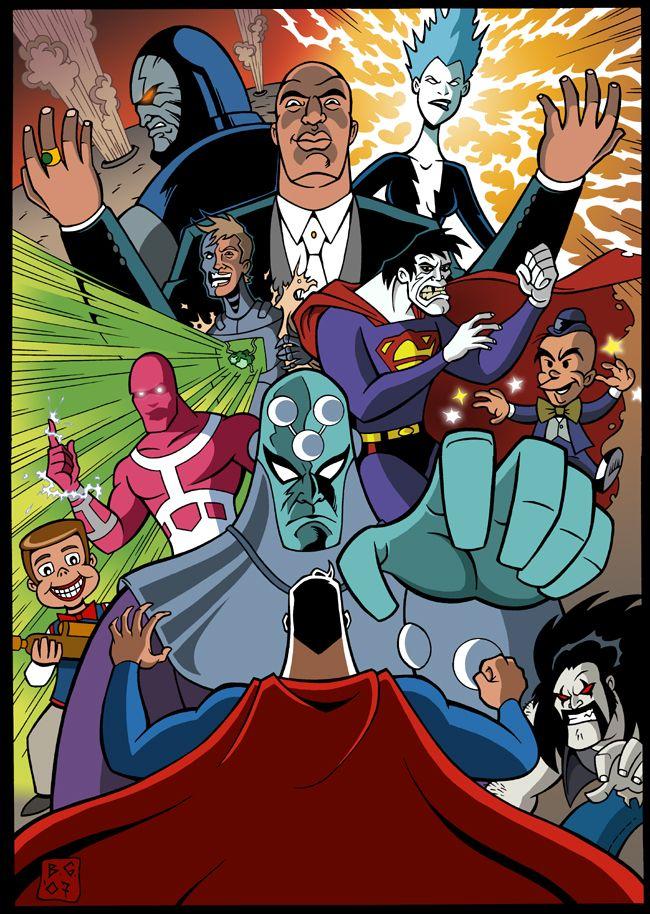 Resultado de imagem para SUPERMAN ENEMIES