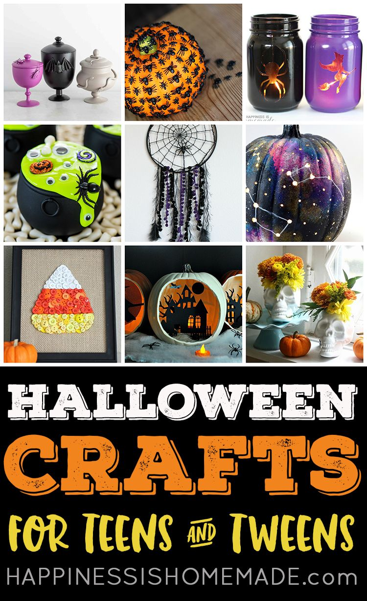 Easy Halloween Crafts For Teens Perfect For Teenagers Older