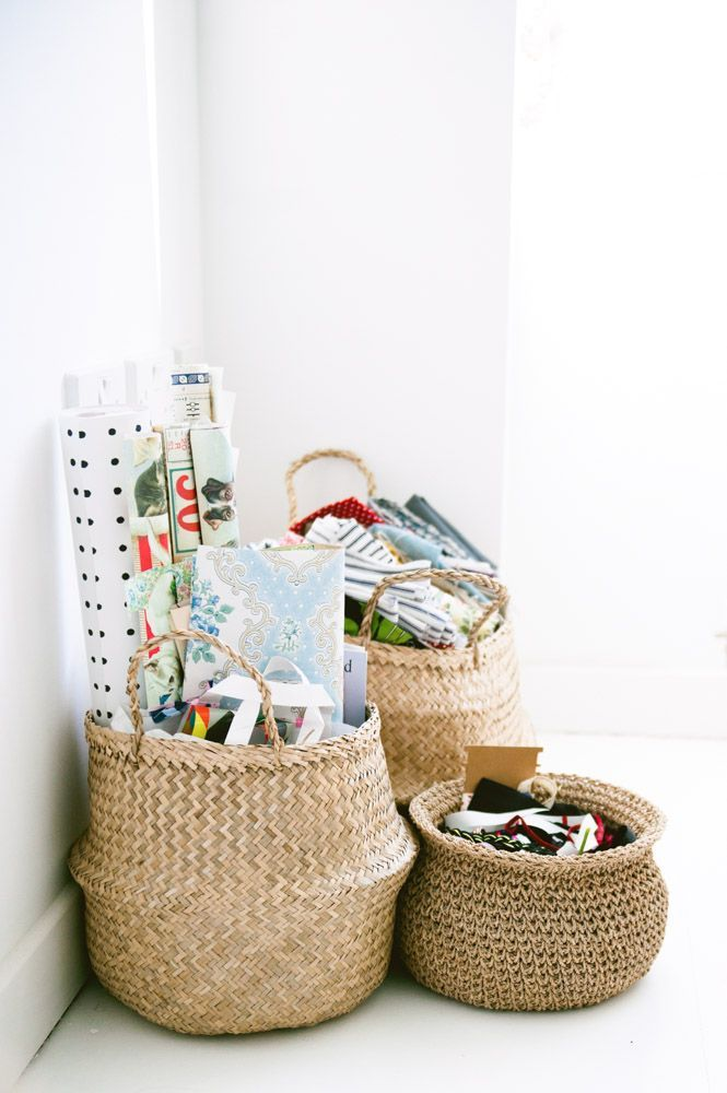 Merveilleux Cluster Of Belly Baskets Makes For A Stylish Storage Solution In Any Kids  Room Or Nursery.