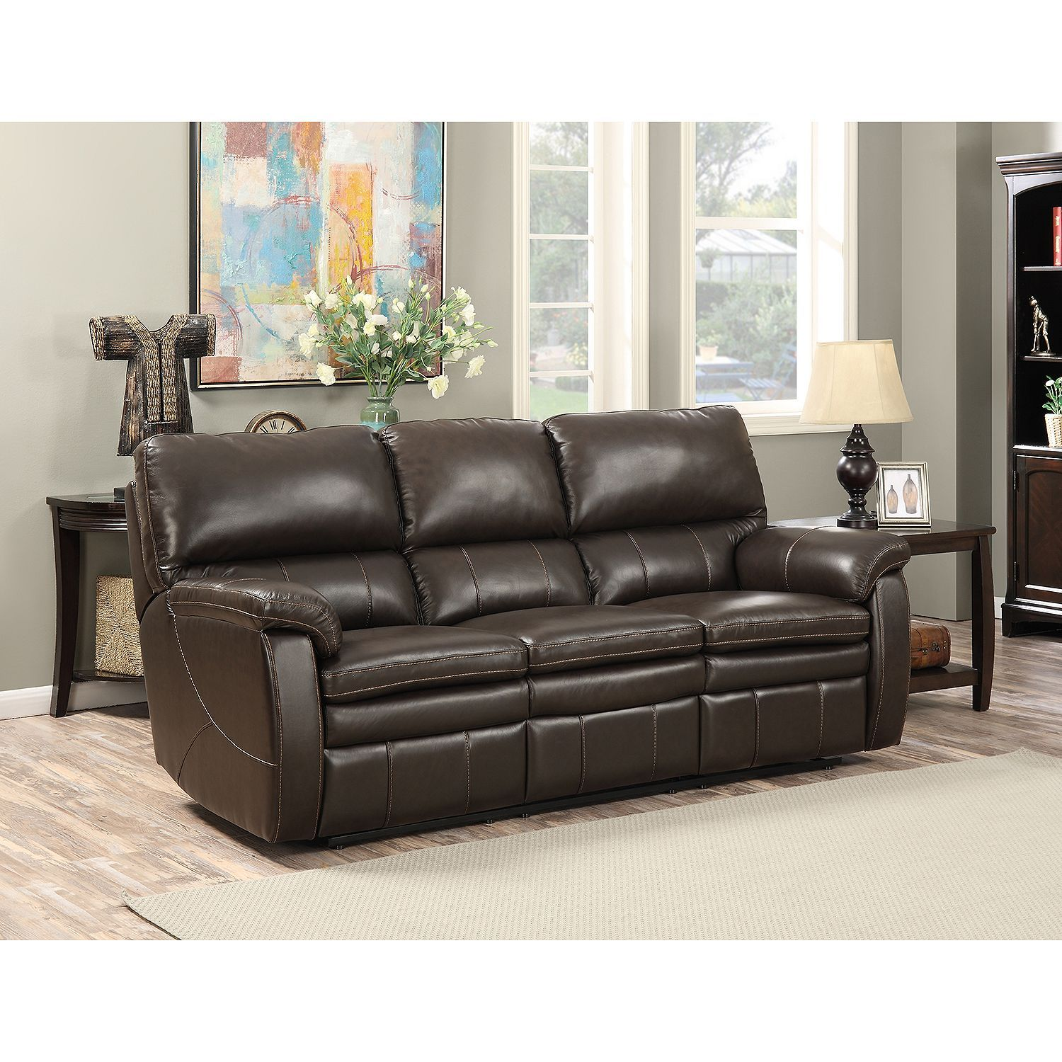 leather sofa sams club batman bed uk crawford top grain reclining in 2019 home sam s