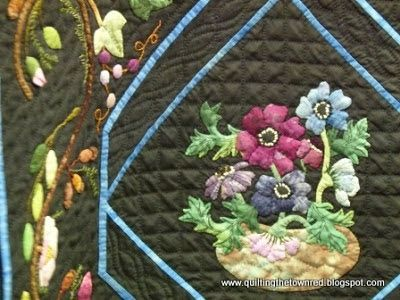 Quilting the town red: Eye Candy part 4: Sequel of Large Hand Quilted Wall Quilts
