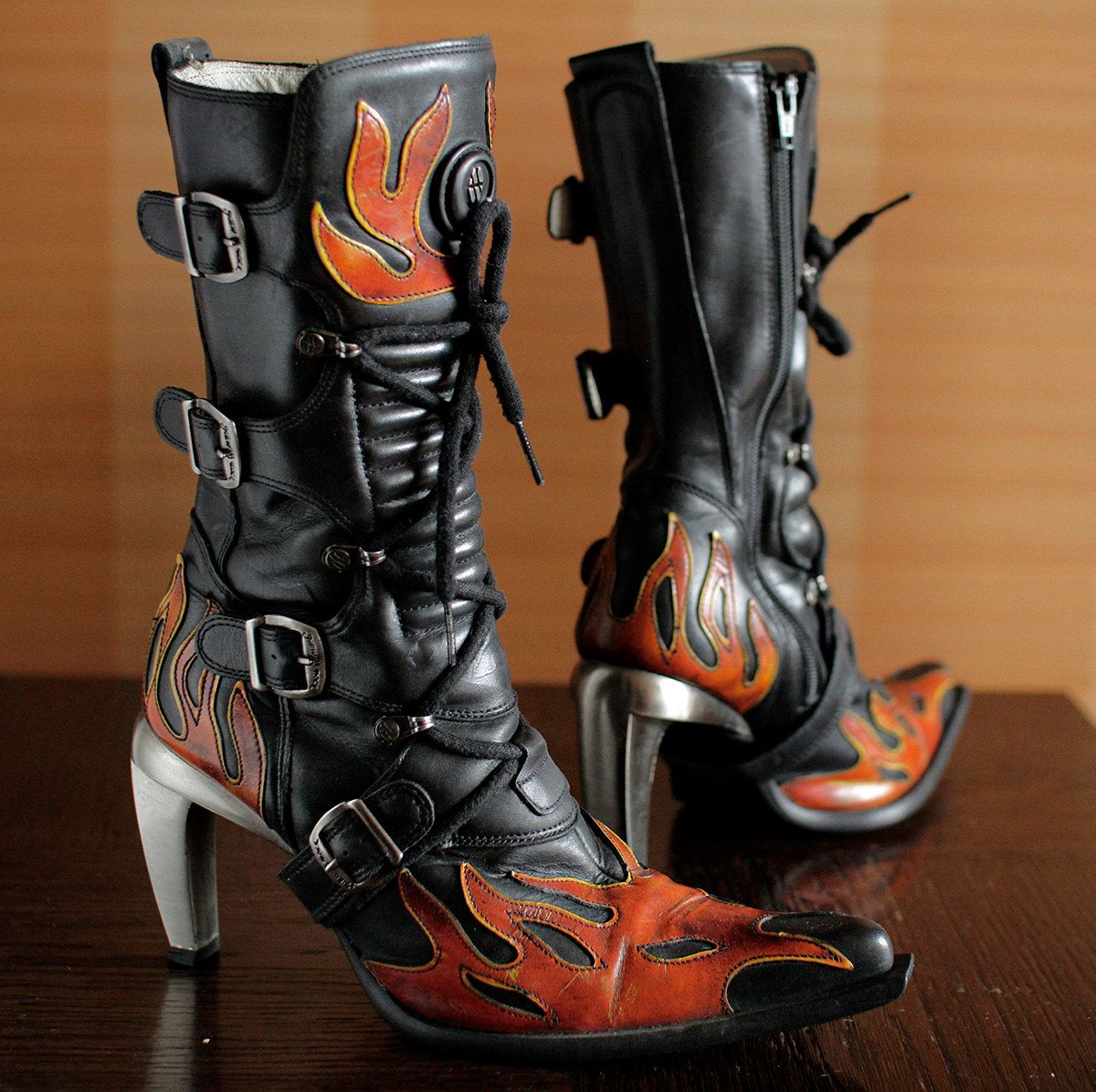 e6b7261e5d2bc cult model New Rock malicia FLAME boots made in Spain, size: 38 EU 7 ...