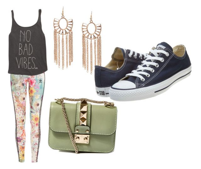 """So me"" by ains9 on Polyvore featuring beauty, adidas Originals, Billabong, Valentino and Converse"