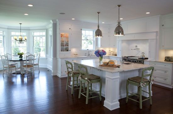 Kitchen Designs By Ken Kelly, Long Island, NY Classic Hamptons Style Kitchen