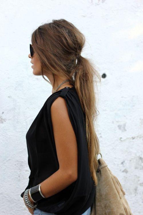 Les plus belles coupes de cheveux long femme
