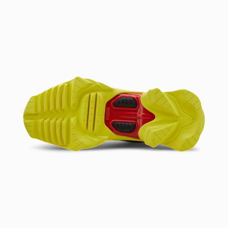 chaussure orange fluo puma