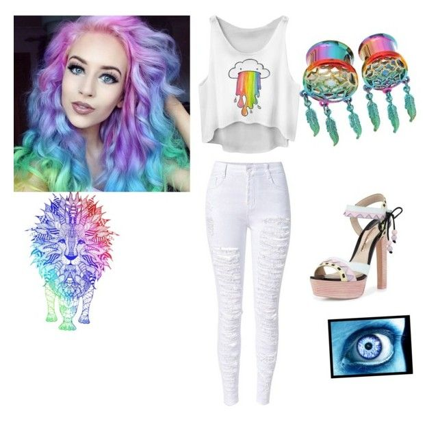 """""""Colorful"""" by country-style on Polyvore featuring Sophia Webster, women's clothing, women's fashion, women, female, woman, misses and juniors"""