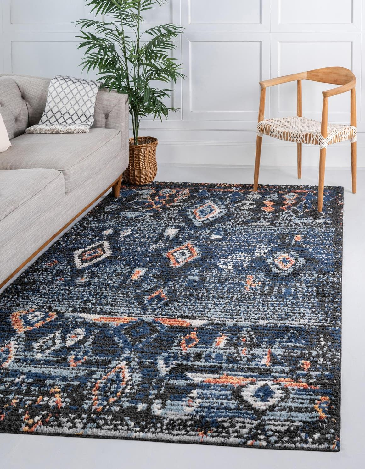 Morocco Light Blue 2x3 Accent Rug In 2020 Rugs Unique Loom