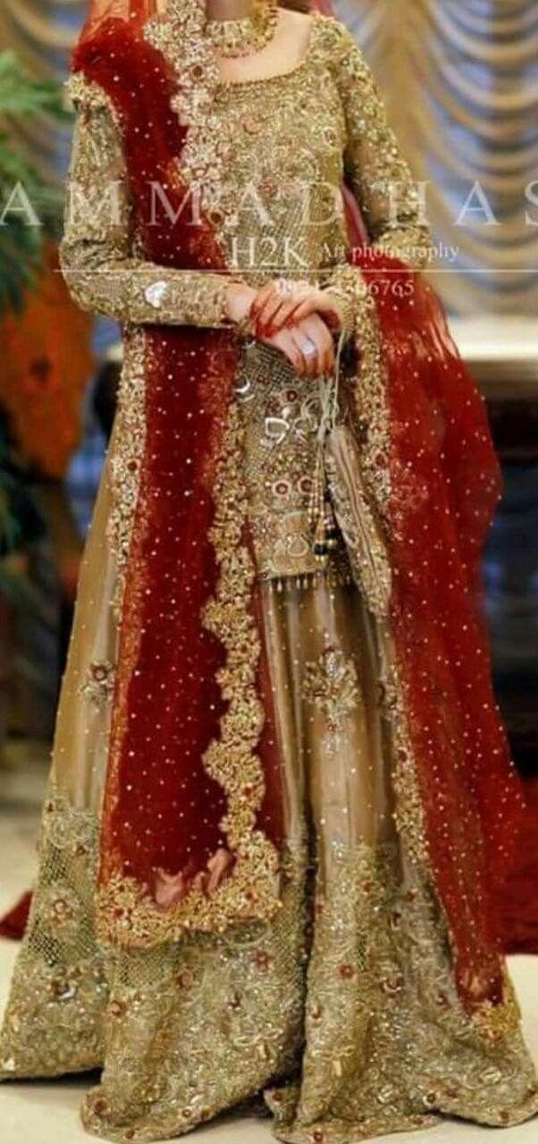 Pin von MUNNI. K auf Pakistani Bridal 2018 | Pinterest | Balkon