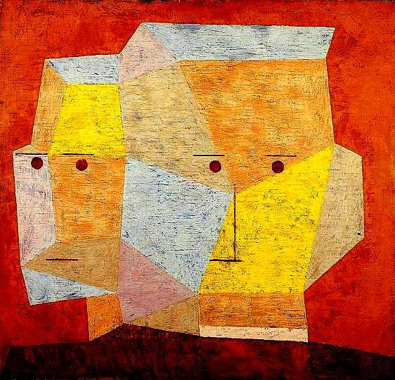 paul klee two heads 1932 paul klee pinterest paul klee k nstler und malerei. Black Bedroom Furniture Sets. Home Design Ideas