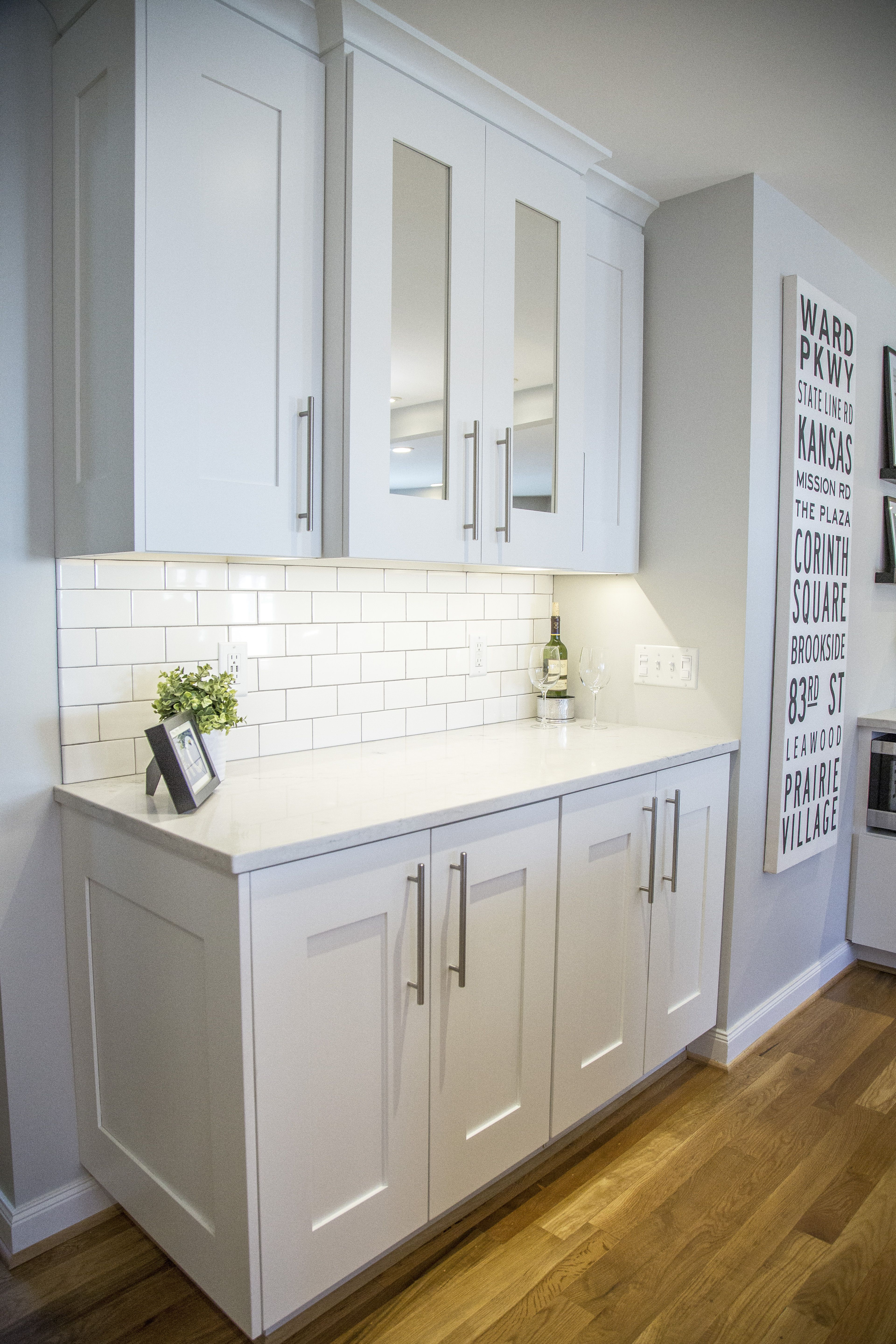 Kitchen Tiles London zodiac london sky quartz countertops, brite white subway tile