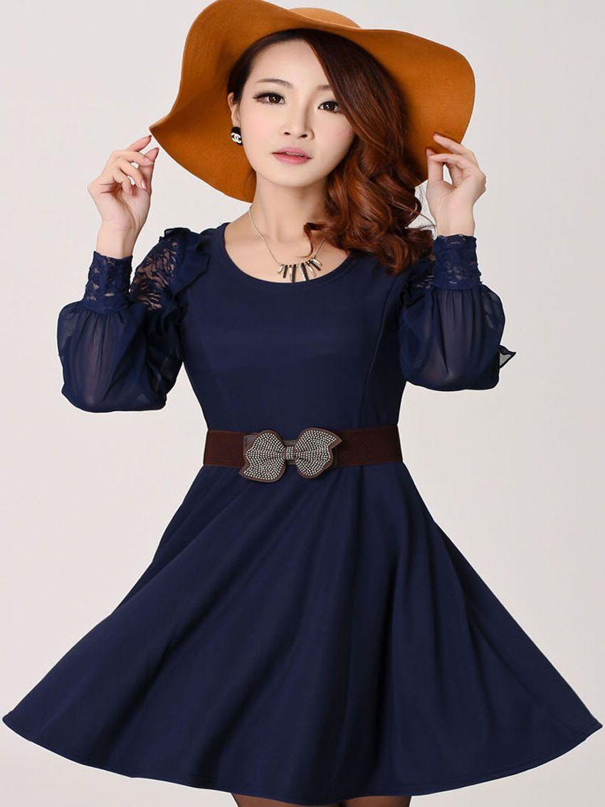 6c29bb269826fc poofy sleeve dress - Google Search