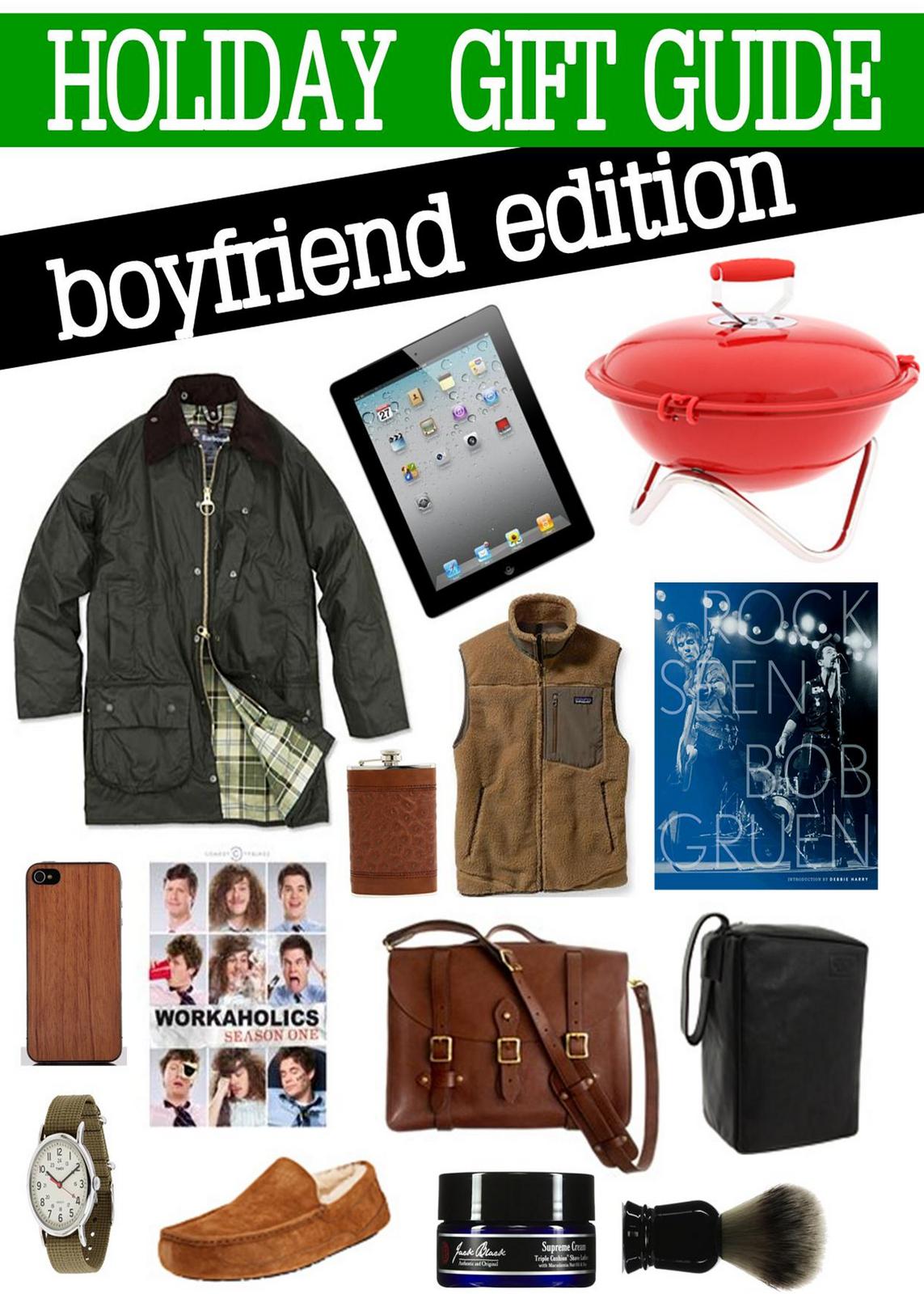 Gift for workaholic boyfriend