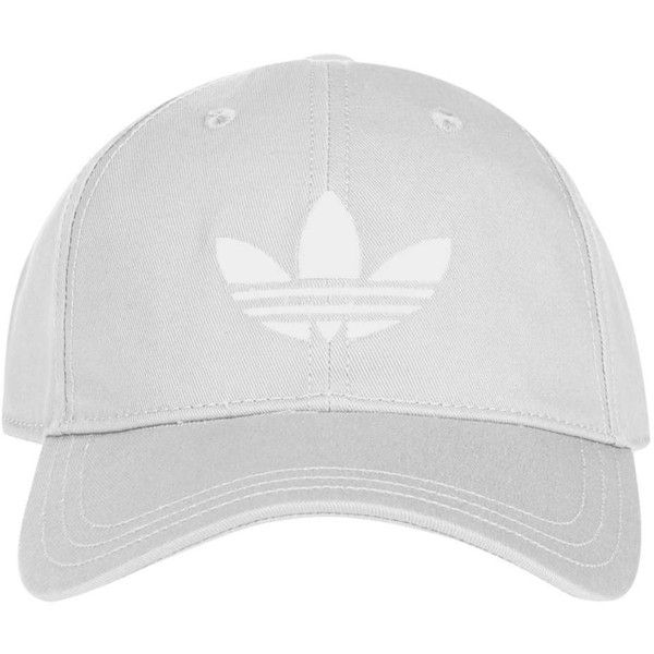 Trefoil Cap by Adidas Originals (70 BRL) ❤ liked on Polyvore featuring  accessories eea77d45a47