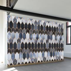 Art Deco Diamonds Wall Mural Wall murals Walls and Diamond wall