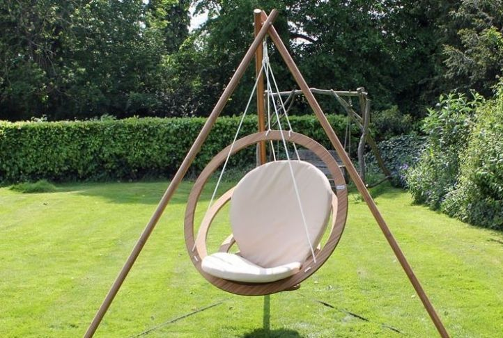 Circa Swing Seat And Tripod Absolute Home Open Seating