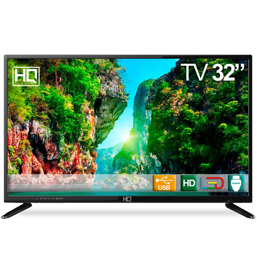 Tv Led 32 Hq Hqtv32 Hd Conversor Digital 3 Hdmi 2 Usb Em 2020