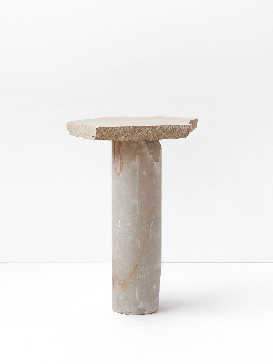 An Exploration of Sandstone and Discarded Materials, Resulting in a Stark Collection of Furniture - Core77