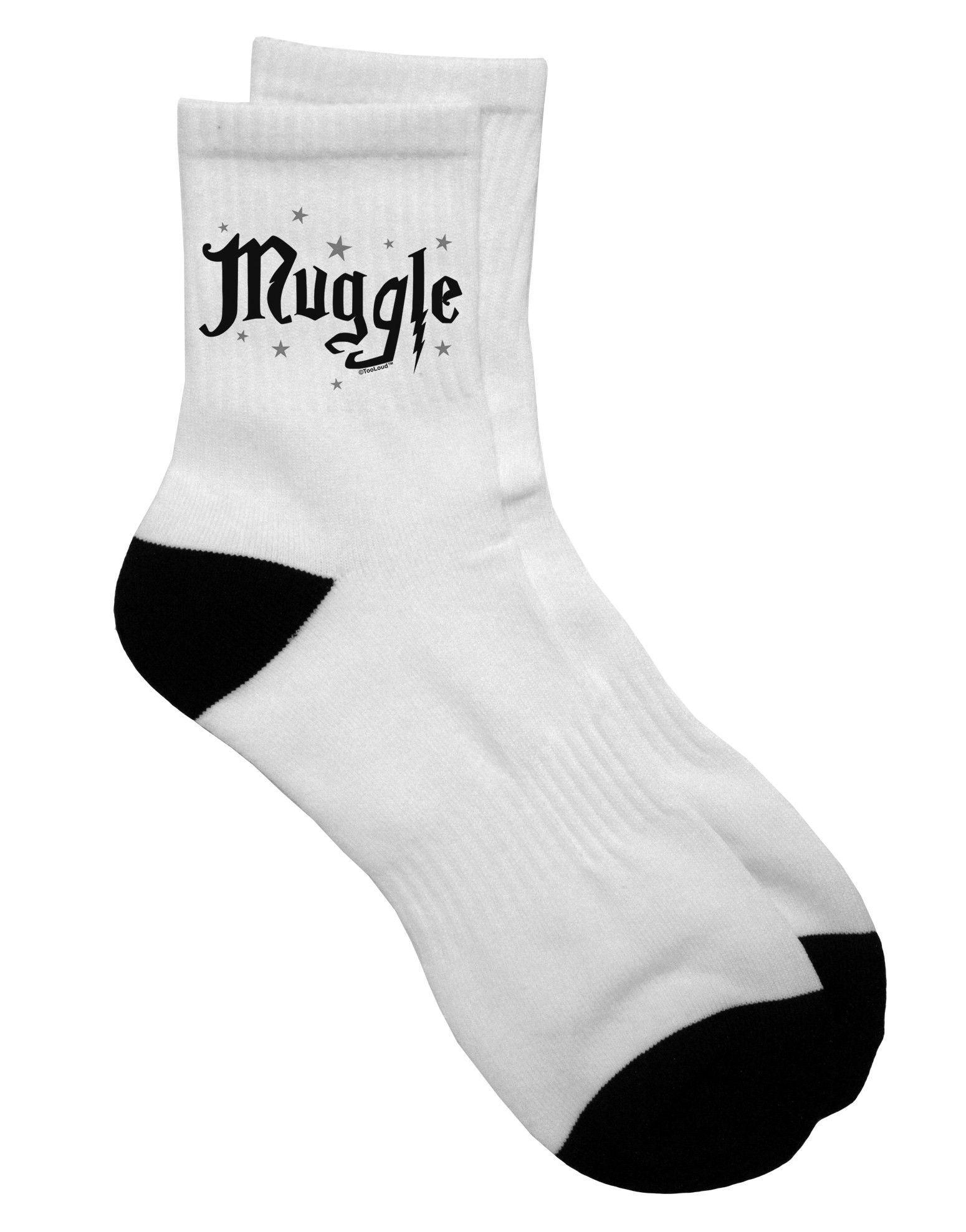 TooLoud Muggle Adult Short Socks