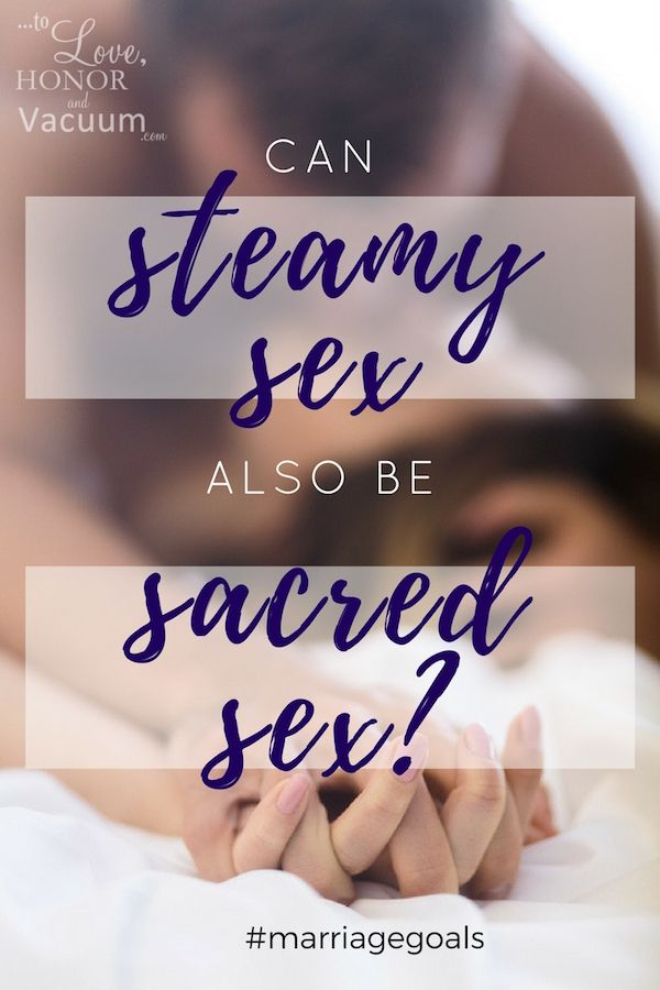 Why is sex biblically sacred