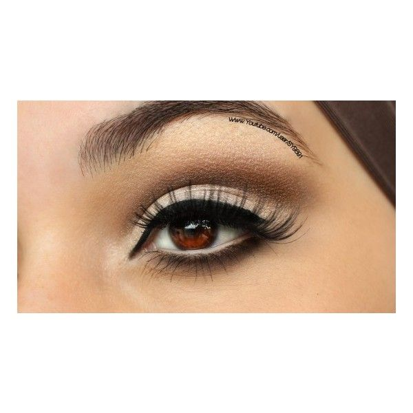 How to Boost Eyelash Growth ❤ liked on Polyvore