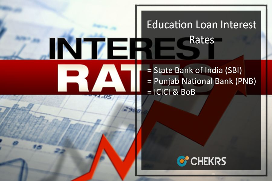 Education Loan Interest Rate 2017 18 For Sbi Bob Pnb Icici Axis Bank How To Get Education Loan Loan Interest Rates Interest Rates Personal Loans