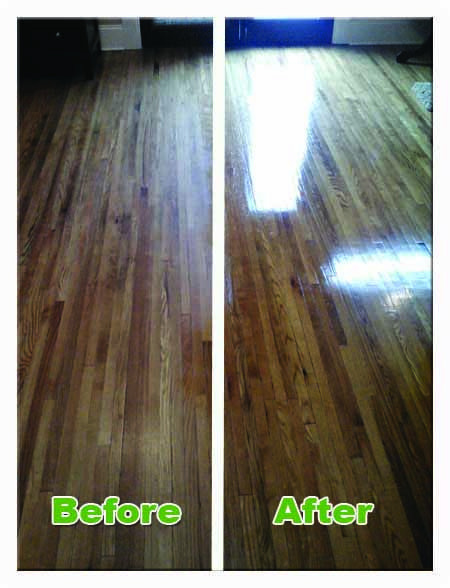 Are Your Engineered Wood Laminate Or Hardwood Floors Looking Dull