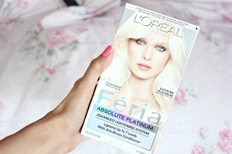 Loreal Feria Absolute Platinum | Products I used \ I have ...