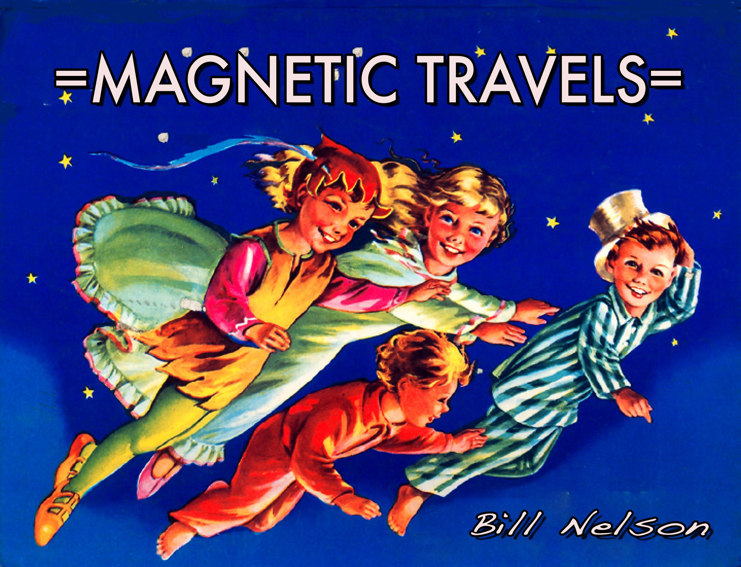 Flyer For The Album Magnetic Travels