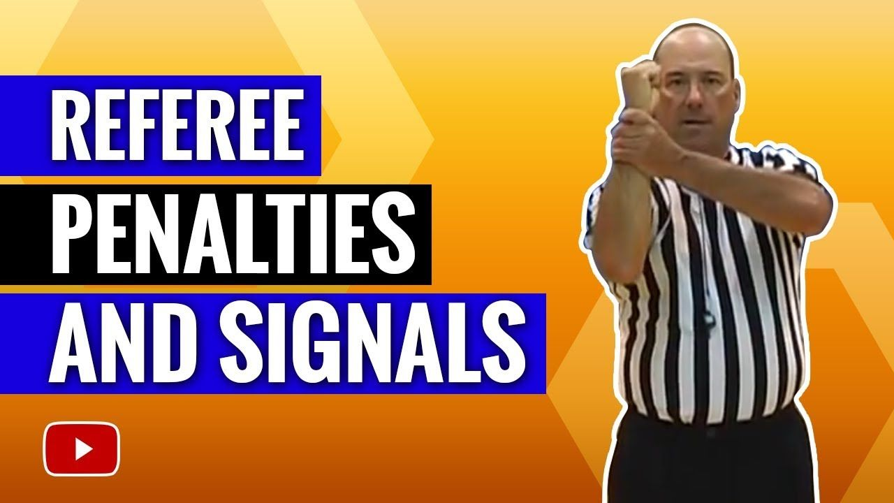 Basketball referee penalties and signals how to
