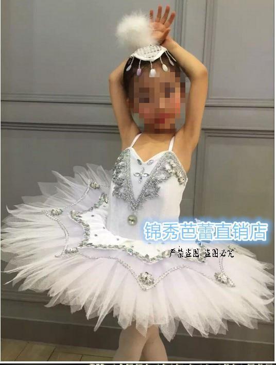 778217785 Children Professional Platter Tutu Ballet Dress Swan Lake Ballet ...
