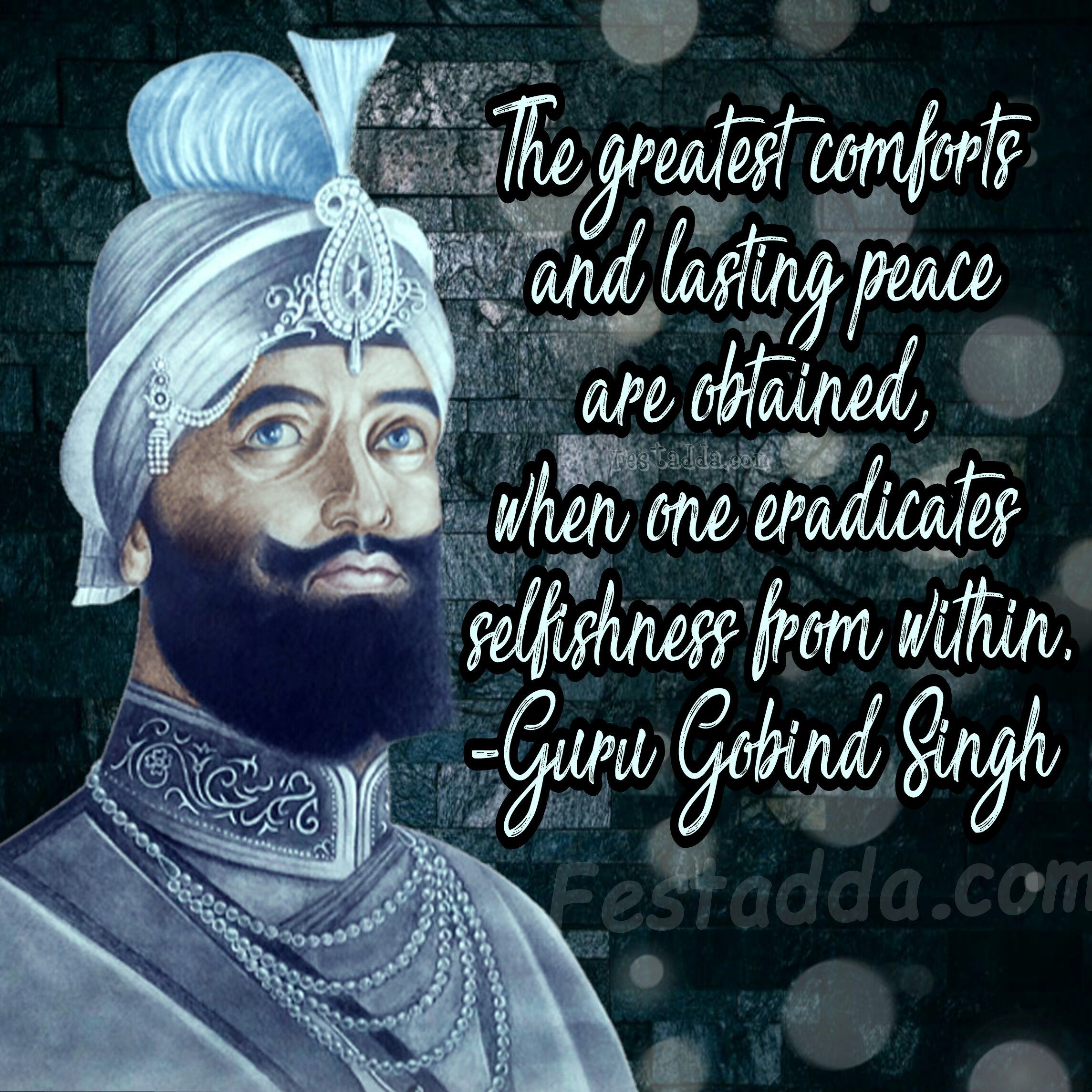 guru gobind singh inspirational messages quotes wishes guru