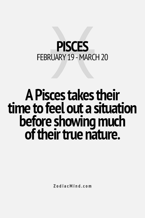 we take our time and sometimes never open up-unless we trust you. #Pisces
