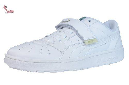 Icra Trainer L, Sneakers Basses Homme, Blanc (White-White 02), 36 EUPuma