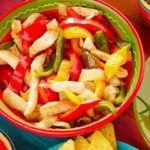 Oven Baked Chicken Fajitas - Sheet Pan and Freezer Meal #recipeforchickenfajitas