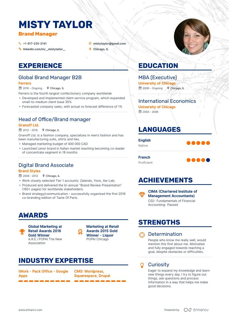 Brand manager Resume Examples and Skills You Need to Get