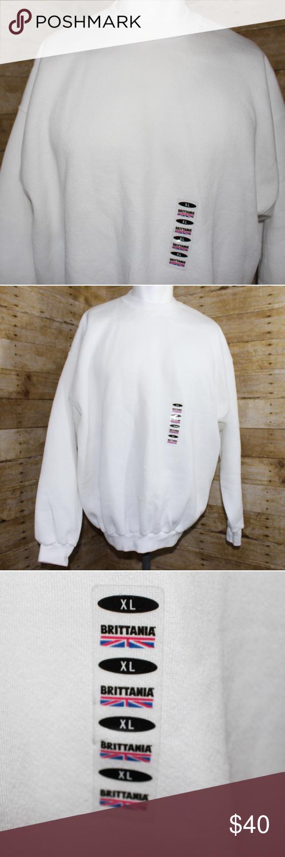 Vintage Brittania Levi Strauss Company Sweatshirt Sweatshirts Vintage Sweatshirt Sweatshirt Shirt [ 1740 x 580 Pixel ]