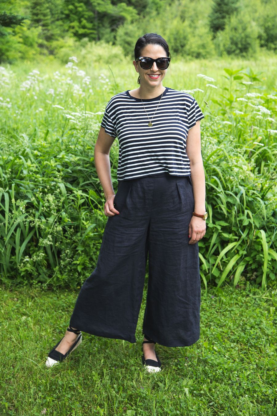 Summer Sewing! The Flint Pants from Megan Nielsen