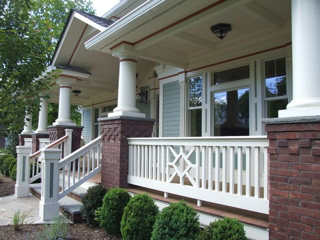 Traditional Front Porch Railing Ideas For Front House Veranda Ideas Pinterest Porch Railings Porch Railing Designs Traditional Porch Modern Front Porches
